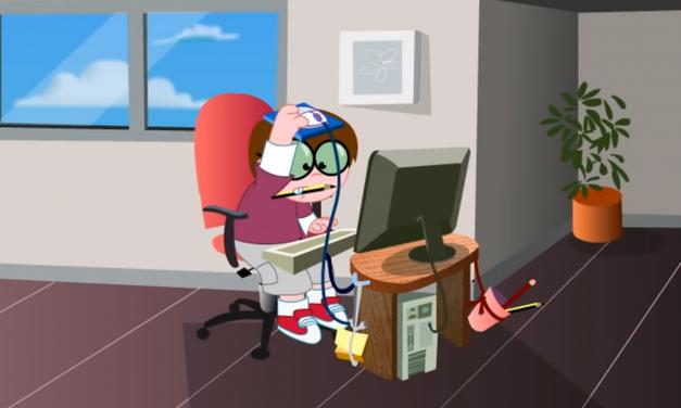 Ergonomía y salud en el uso del ordenador por parte de los menores
