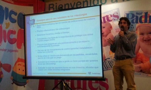 PantallasAmigas habló de las oportunidades y retos de los videojuegos en la Escuela de Padres de la Feria Dabadum