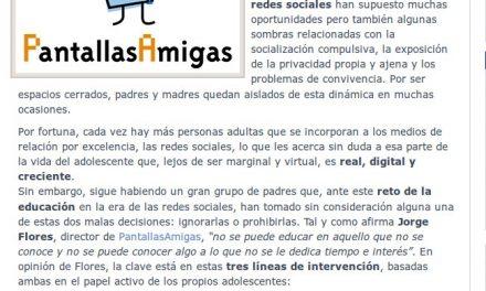 PantallasAmigas fomenta la interacción entre padres e hijos en el aprendizaje digital [TICPYMEs.es]