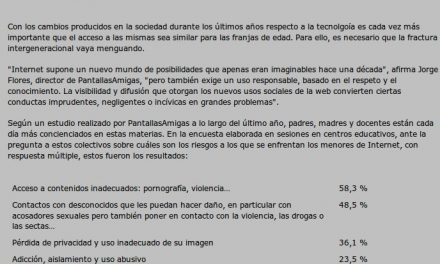 PantallasAmigas reivindica el papel de padres y educadores en el Día de Internet [e-volución]