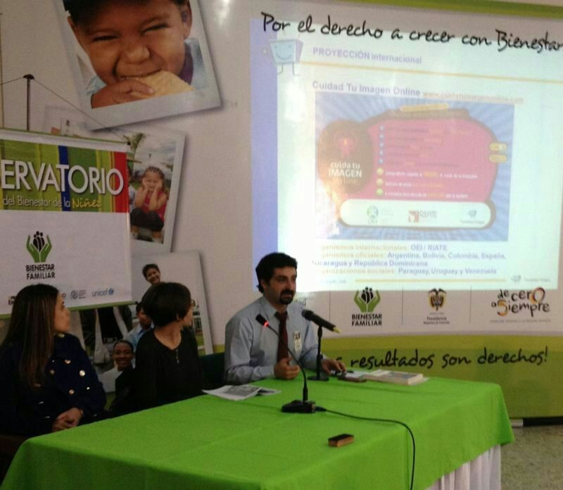 Conversatorio ICBF niñez Internet PantallasAmigas