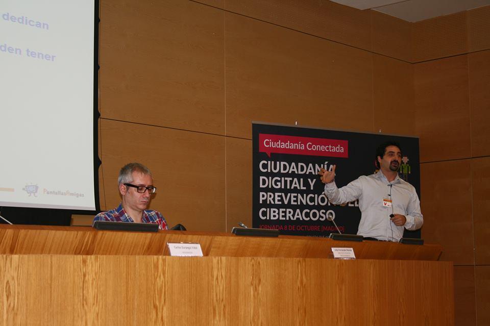 Ciudadanía Conectada PantallasAmigas Carlos- Gurpegui