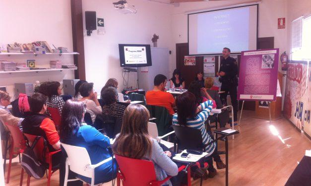 Jornada contra la violencia sexual en jóvenes y adolescentes en el marco del programa IRENE en Miranda de Ebro (Burgos)