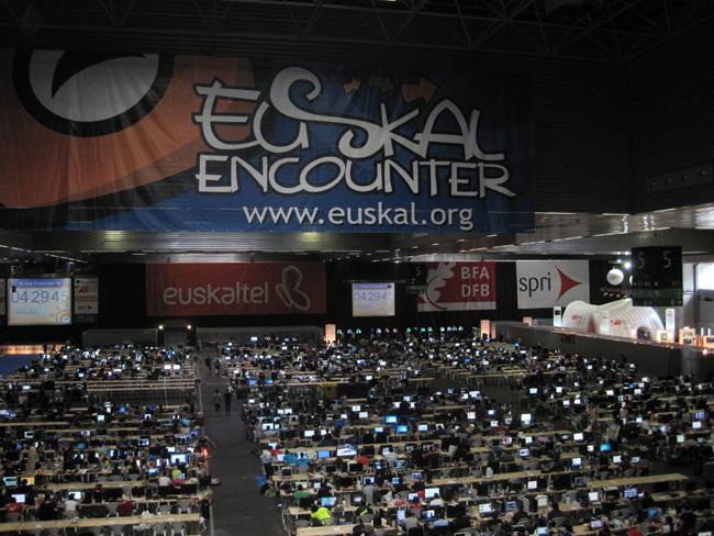 6000 asistentes en la Euskal Encounter_PantallasAmigas