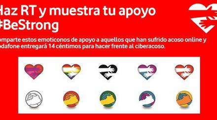 """La Fundación Vodafone apoya a PantallasAmigas a través de campaña """"Di STOP al ciberacoso"""""""