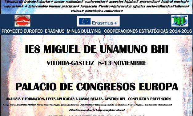 Proyecto de la Comunidad Europea analiza el ciberbullying en el Instituto Miguel de Unamuno