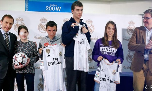 Fomentando los valores en Internet, entregado el premio de Fundación Real Madrid y Google
