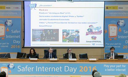 Internet más segura para niñas, niños y adolescentes junto a empresas, administración y tercer sector