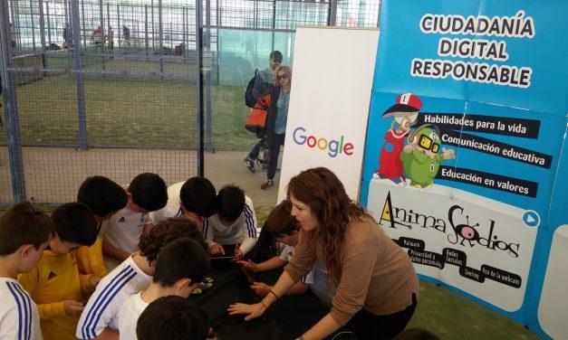 Fomentando los valores en Internet de la mano de la Fundación Real Madrid, Google y PantallasAmigas