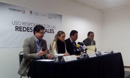 Gobierno de Querétaro lanza campaña para una Internet más segura con PantallasAmigas