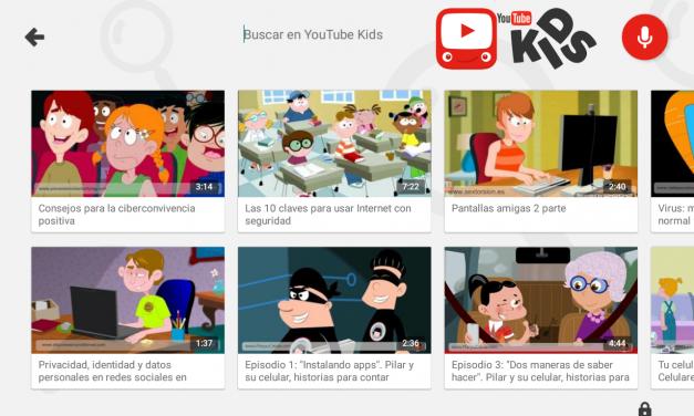 YouTube Kids, versión de YouTube para edad infantil,  disponible ya en Colombia