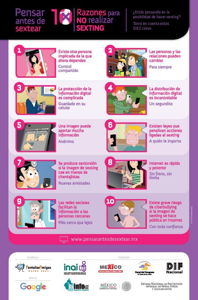 Póster-Pensar-antes-de-Sextear-Resumen-10-Razones-No-Sexting-PantallasAmigas