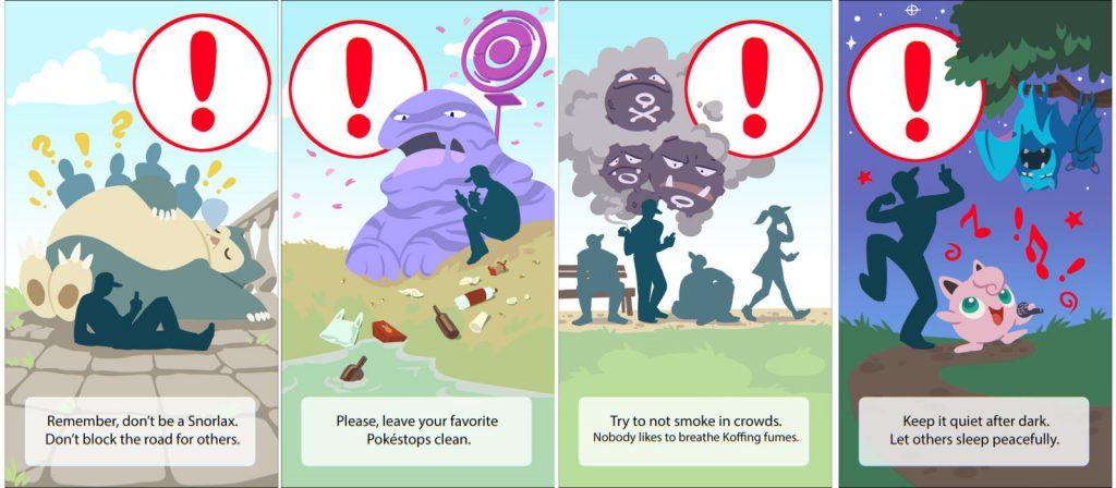 Advertencias ilustradas de la artista polaca Magdalena Proszowska