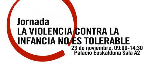 CARTEL JORNADA LA VIOLENCIA CONTRA LA INFANCIA NO ES TOLERABLE - Save The Children