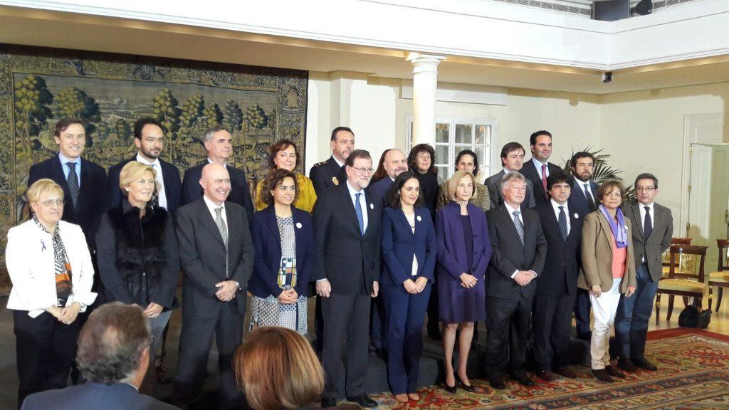 Reconocimiento de la trayectoria de contra Violencia de Género - Gobierno de España - Plantel Galardonados