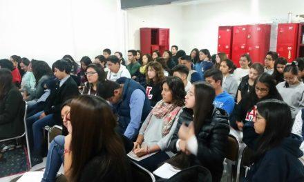 Conferencia sobre privacidad en Internet para alumnado de la Prepa Ibero de Tlaxcala