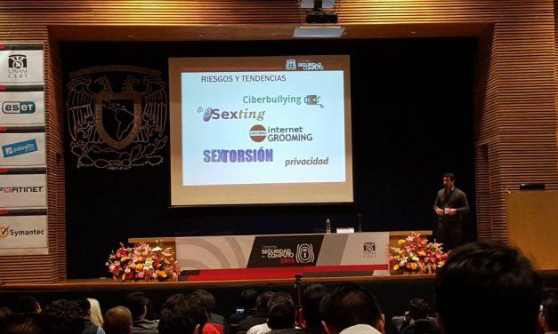 Promoción de la cultura de ciberseguridad y privacidad en el Congreso Seguridad en Cómputo de UNAM-CERT, México