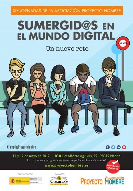 XIX Jornadas de la Asociación Proyecto Hombre Sumergidos en el Mundo Digital