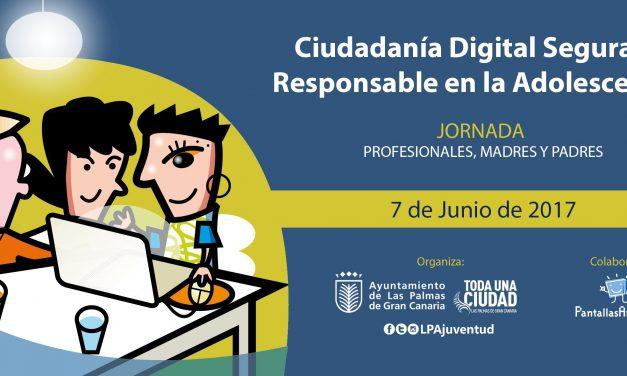 Las Palmas de Gran Canaria acoge Jornada sobre Ciudadanía Digital Segura y Responsable en la Adolescencia