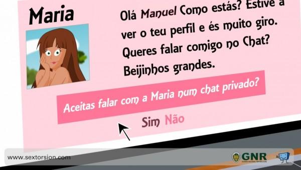 GNR y PantallasAmigas lanzan animación en portugués para advertir acerca de la sextorsión