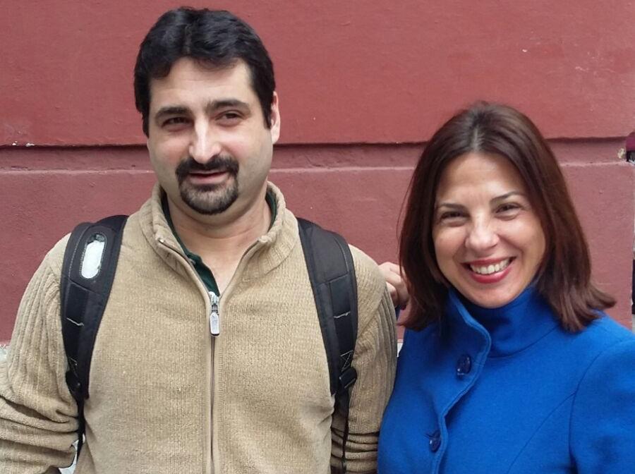 Director de proyectos de PantallasAmigas, junto con Lorena Crusellas Díaz, fundadora de la Associação Prevenir.jpg