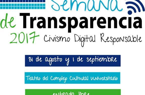 Semana de Transparencia en Puebla 2017: Civismo Digital Responsable