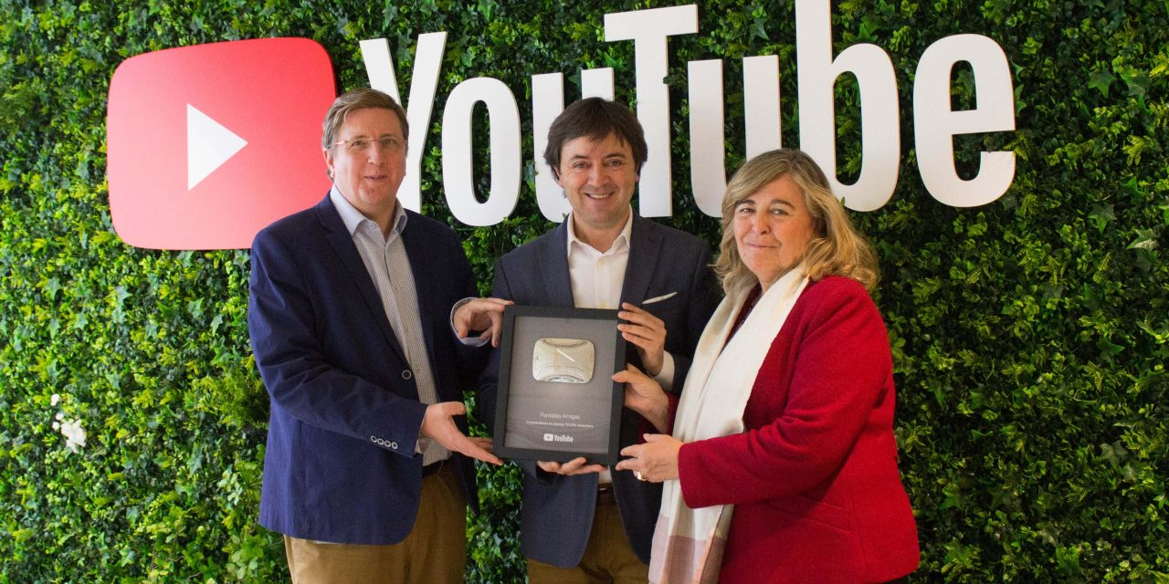 Google galardona a PantallasAmigas por su éxito formando a menores desde YouTube en un uso responsable de internet