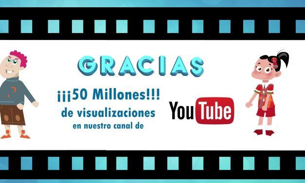 El canal de YouTube de PantallasAmigas sobre Ciberseguridad y Ciudadanía Digital supera los 50 millones de visualizaciones