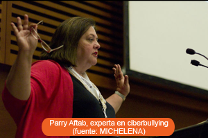 Parry Aftab, experta en ciberbullying (fuente: MICHELENA)