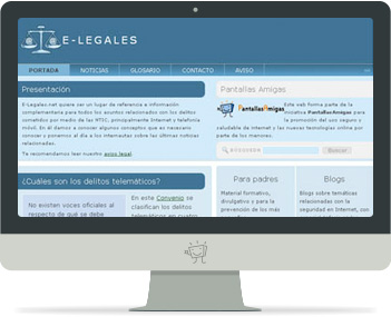 Captura de e-Legales.net