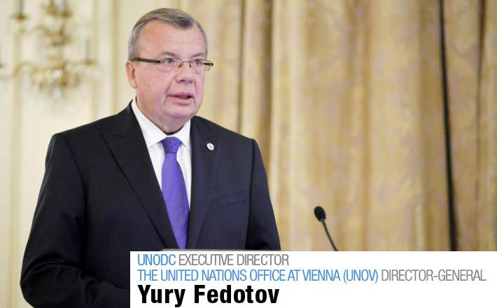 Safer Internet Day 2018 UNODC Declaración Yury Fedotov