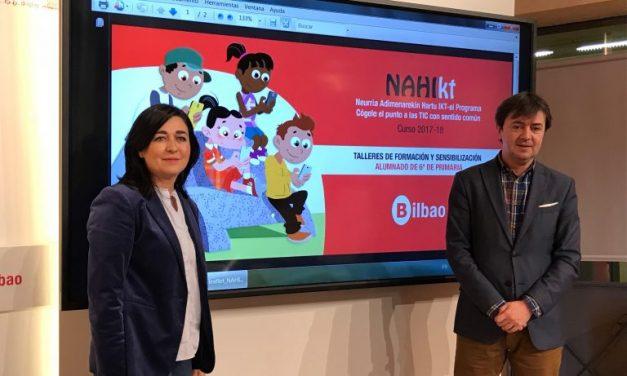 NAHIKT: programa para una vida digital sana y segura en  Bilbao