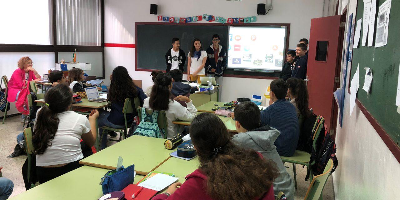 Cibermanagers en el Colegio Heidelberg, Las Palmas de Gran Canaria
