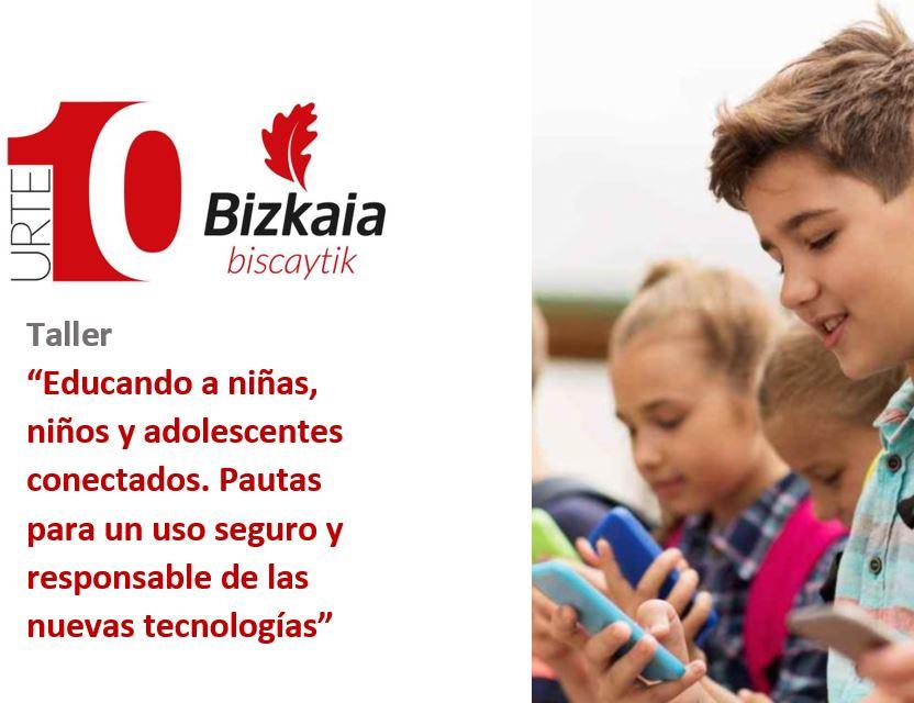 Programa Taller Jornada BiscayTIK uso seguro nuevas tecnologias