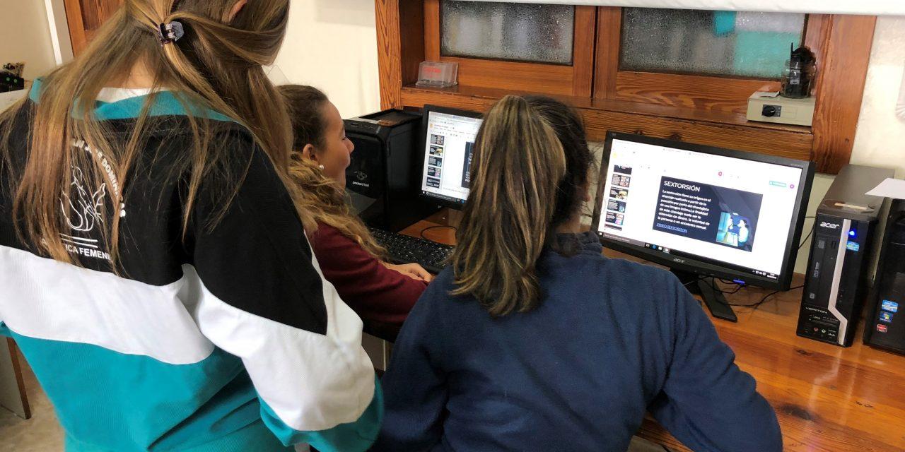 Colegio San José Dominicas: Cibermaganers En El Colegio San José Dominicas, Las