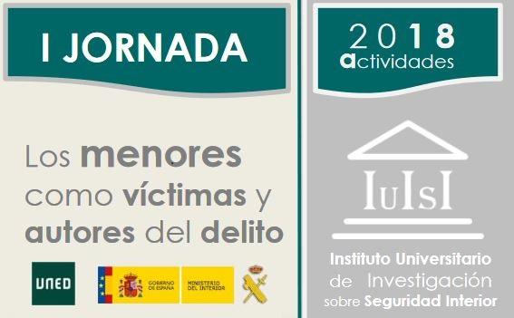 """Jornada """"Los menores como autores y víctimas de delitos"""" organizada por el IUISI"""