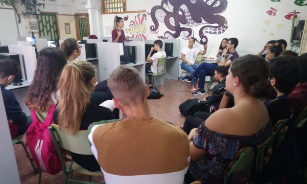 Cibermanagers en el centro IES Ana Luisa Benítez, Las Palmas de Gran Canaria