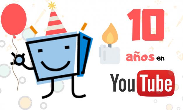 El canal de Youtube de PantallasAmigas cumple 10 años