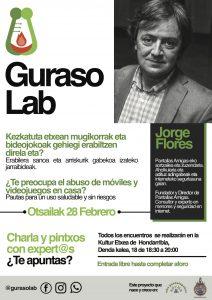 Charla Gurasolab Jorge Flores Hondarribi móviles y videojuegos hijos