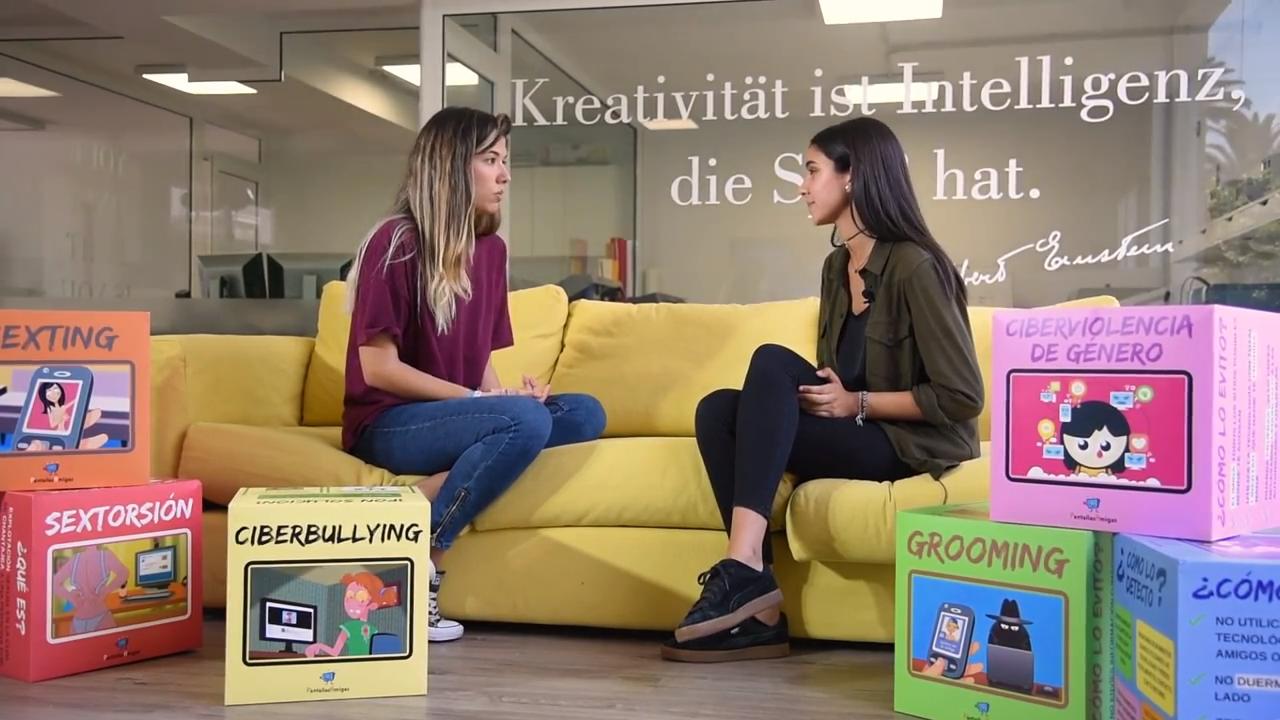 alumna-colegio-Heidelberg-Claudia-Florido-lanza-proyecto-basado-material-divulgativo-PantallasAmigas
