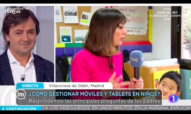 ¿Cómo gestionar los dispositivos digitales en la infancia? Jorge Flores da las claves en «La Mañana»
