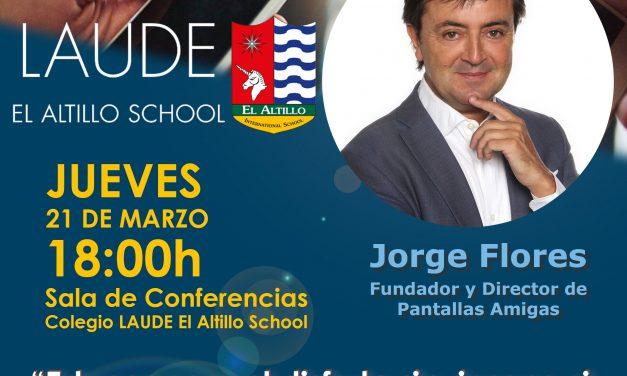 Conferencia en Jerez de la Frontera: «Educar para el disfrute sin riesgos ni abuso de móviles, redes sociales y videojuegos»