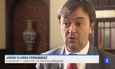 Jorge Flores habla sobre la adicción a los videojuegos en el Telediario, de TVE