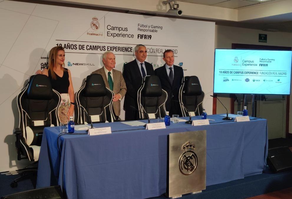 Nace el primer Campus de Fútbol y Gaming responsable de la mano de la Fundación Real Madrid