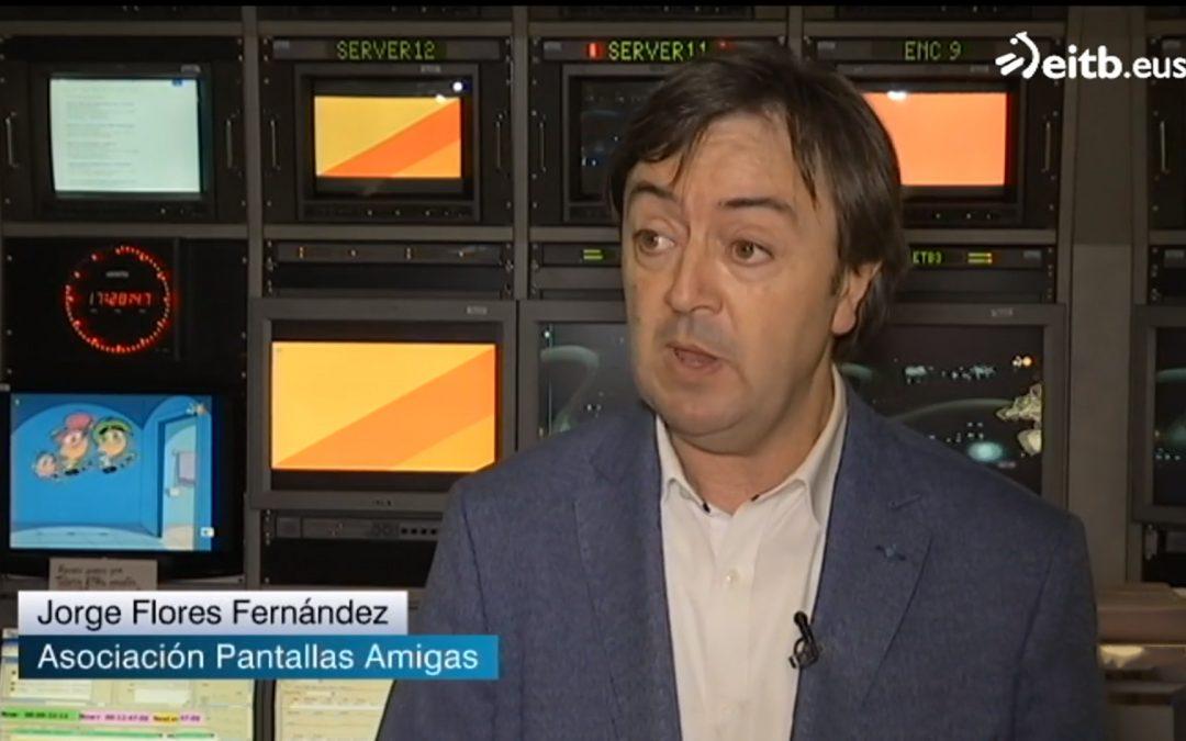 EiTB entrevista a PantallasAmigas en relación a los recientes datos de pornografía y juventud