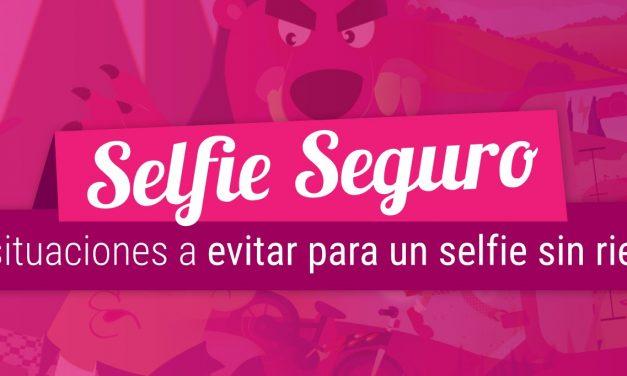Diez situaciones a evitar para un selfie sin riesgos, campaña por la seguridad y privacidad
