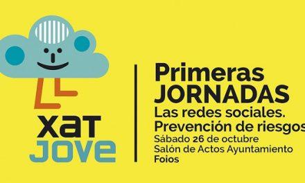 Jornada XatJove en Foios de educación a los jóvenes en las posibilidades y los riesgos de las Redes Sociales