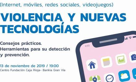 Jornada Violencia y Nuevas Tecnologías en Logroño. Consejos prácticos. Herramientas para su detección y prevención