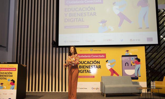 Mar España, Directora de la AEPD, cita medidas impulsadas para la seguridad y bienestar de menores en Jornada Ciudadanía Conectada