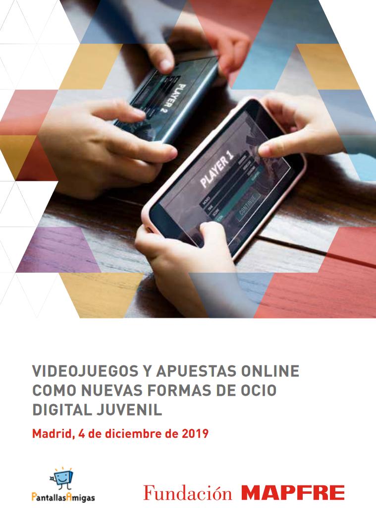 Videojuegos y apuestas online como nuevas formas de ocio digital juvenil